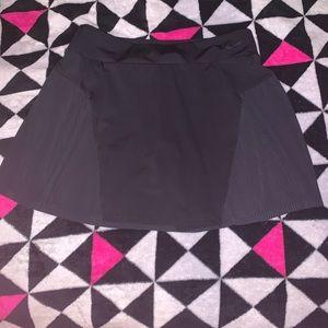 Black Nike Dry Fit Tennis Skirt.